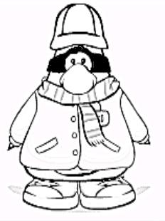 coloring pages alex bl 17 39 s club penguin cheats club